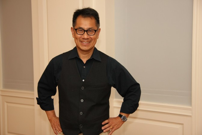 Award-winning author and filmmaker Arthur Dong. Photo by Lia Chang
