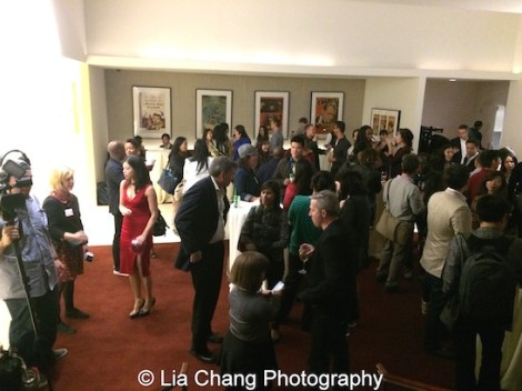 The Film Lab, Time Warner and the APEX group networking reception at the Time Warner Theater in New York on October 7, 2015. Photo by Lia Chang