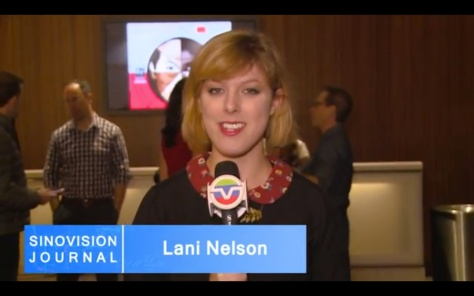 Lani Nelson, Sinovision Journal reporter.