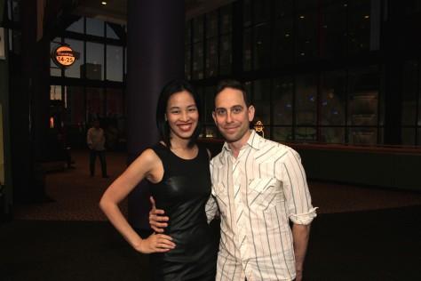 Bev's Girl Films producing partners Lia Chang and Garth Kravits.