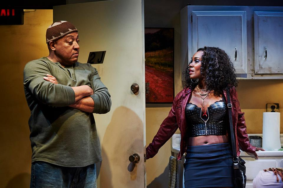Keith Randolph-Smith and Joniece Abbott-Pratt in Sunset Baby. Photo by Kristi Jan Hoover