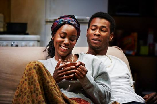 Joniece Abbott-Pratt and J. Alphonse Nicholson in Sunset Baby. Photo by Kristi Jan Hoover