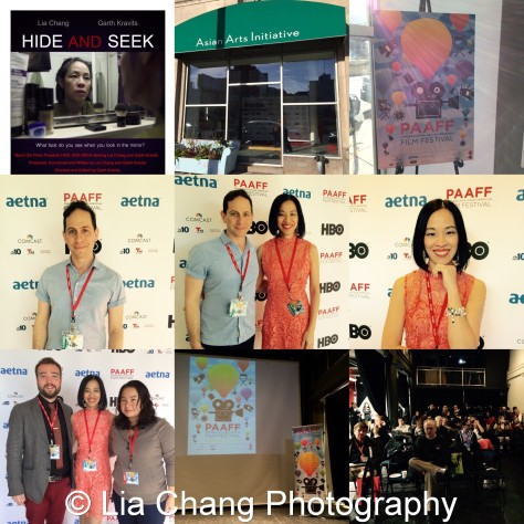 Bev's Girl Films' Hide and Seek by Garth Kravits and Lia Chang was an official selection at PAAFF'15 and screened in the Women's Shorts Program at the Asian American Arts Initiative on November 21, 2015.
