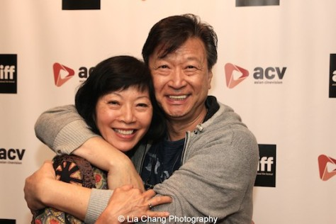 Elizabeth Sung and Tzi Ma play husband and wife in the upcoming film Pali Road. Photo by Lia Chang
