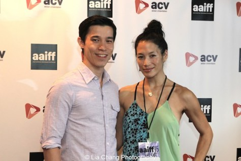 Jason Tobin and Eugenia Yuan. Photo by Lia Chang
