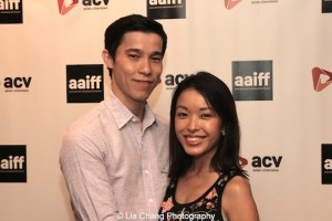 Jason Tobin and his wife Michelle. Photo by Lia Chang