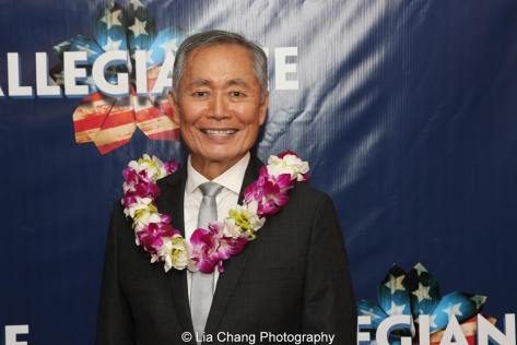 George Takei. Photo by Lia Chang