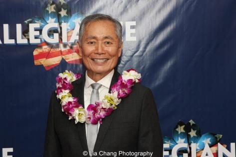 George Takei. Photo by Lia Chang