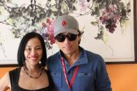 Lia Chang and Peter Shinkoda. Photo by Garth Kravits