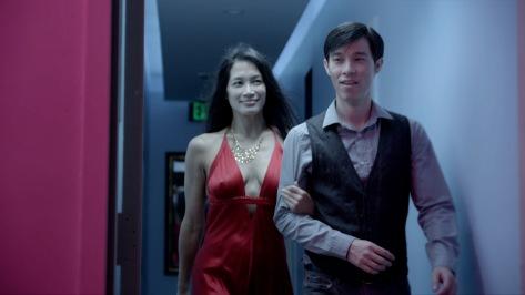 Euguenia Yuan and Jason Tobin in #1 Serial Killer.