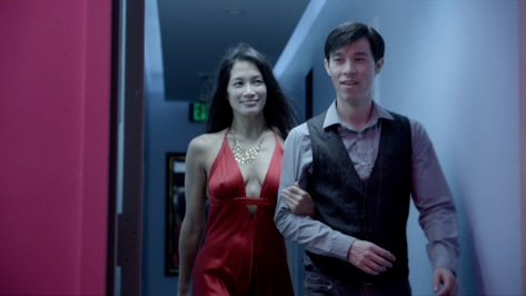Euguenia Yuan and Jason Tobin in #1 Serial Killer.