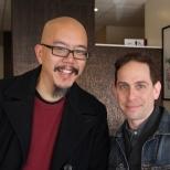 Scott Chops Jung and Garth Kravits_Photo by Lia Chang