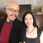 Scott Chops Jung and Lia Chang. Photo by Garth Kravits