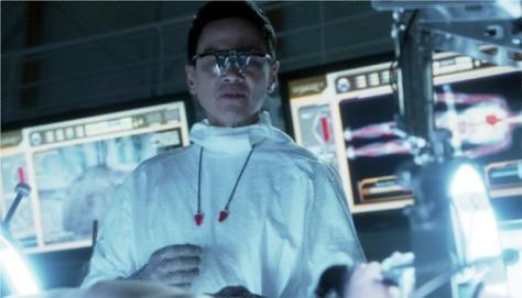Joel de la Fuente in Hemlock Grove as Doctor Johann Pryce. Photo: Netflix