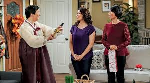 Ken Jeong, Suzy Nakamura and Jeanne Sakata on ABC's 'Dr. Ken'.
