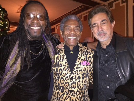 SaMí Chester, André De Shields and Joe Mantegna. Photo by Merle Frimark