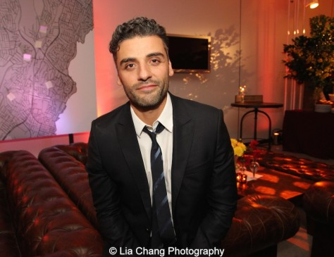 Oscar Isaac. Photo by Lia Chang