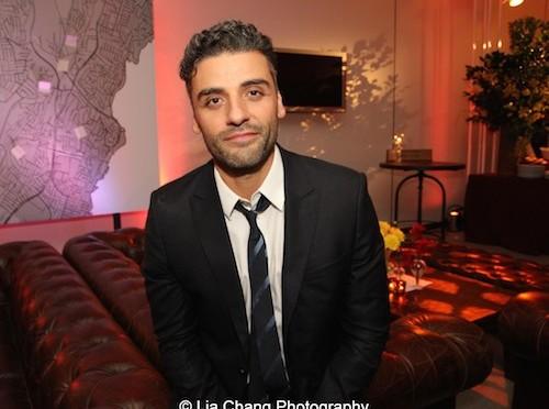 Oscar Isaac. Photo by Lia Chang