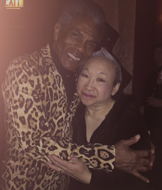 André De Shields and Lori Tan Chinn. Photo by Merle Frimark