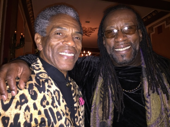 André De Shields and SaMí Chester. Photo by Merle Frimark