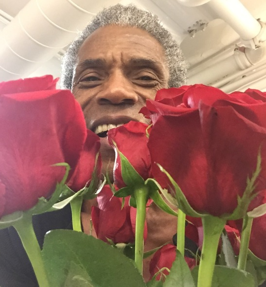 André De Shields in the dressing room at the Bank of America Theatre in Chicago on December 28, 2015.