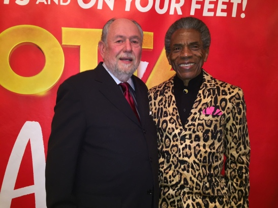 Dennis Zacek and André De Shields. Photo by Merle Frimark