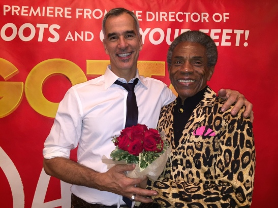 Jerry Mitchell and André De Shields. Photo by Merle Frimark