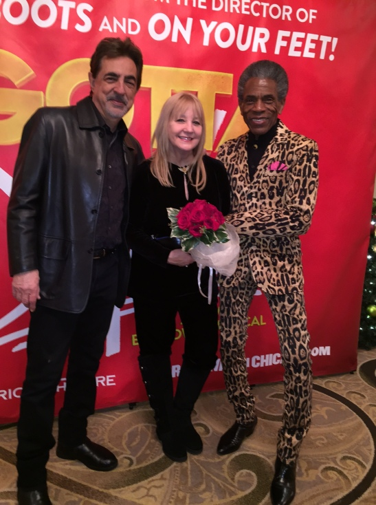Joe Mantegna, Arlene Mantegna and André De Shields. Photo by Merle Frimark