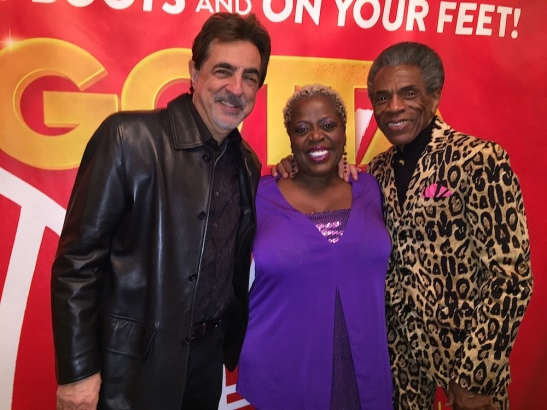 Joe Mantegna, Lillias White and André De Shields. Photo by Merle Frimark