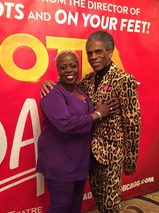 Lillias White and André De Shields. Photo by Merle Frimark