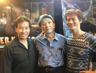 BTILC stars Peter Kwong, James Hong and James Pax at Son of Monsterpalooza in Burbank on September 19, 2015.