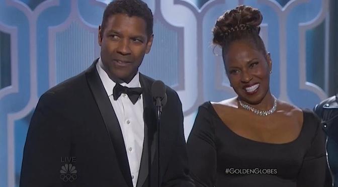 Video: Denzel Washington Receives the Cecil B. DeMille Award – Golden Globes 2016