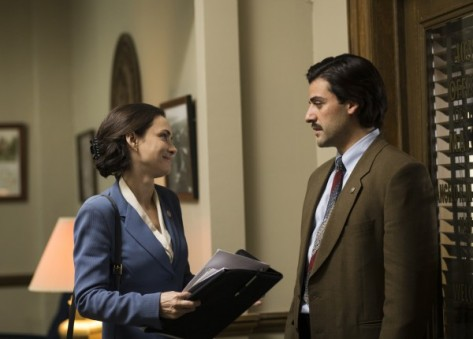 Winona Ryder and Oscar Isaac in 'Show Me A Hero'. Photo: HBO