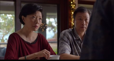 "Elizabeth Sung and Tzi Ma in ""Pali Road""."
