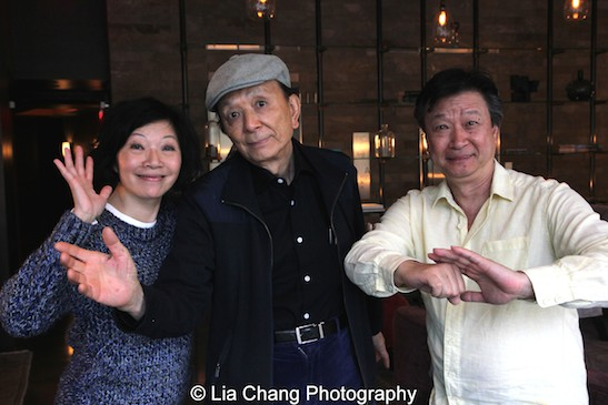 Actors James Hong, Tzi Ma and Elizabeth Sung Talk Shop