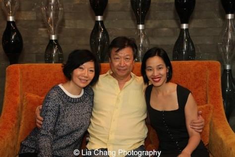 Elizabeth Sung, Tzi Ma and Lia Chang