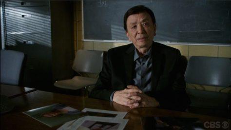 """James Hong in """"Elementary""""."""