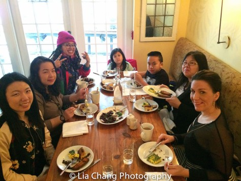 Melissa Kim, Phuong Nguyen, Christina May and Victoria Place at the TWFF'16 filmmaker's brunch at Russet Restaurant in Philadelphia on March 13, 2016. Photo by Lia Chang