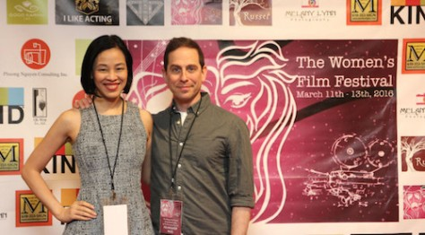 Lia Chang and Garth Kravits.