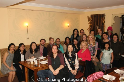 The TWFF'16 filmmaker's brunch at Russet Restaurant in Philadelphia on March 13, 2016. Photo by Lia Chang