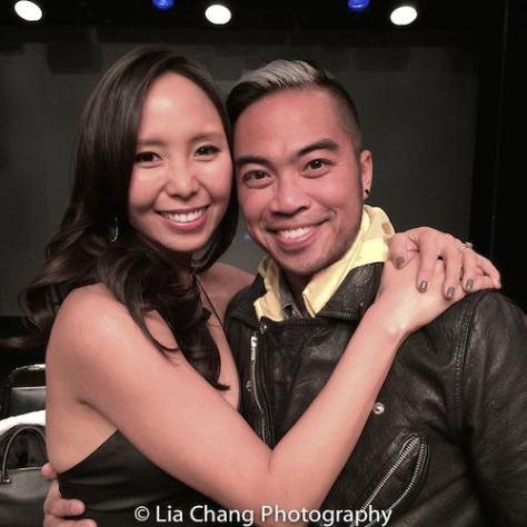 Emily Borromeo and Enrico Rodriguez. Photo by Lia Chang