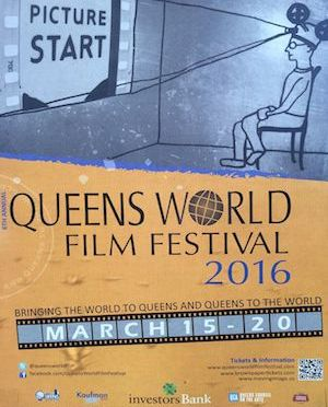 6th Annual Queens World Film Festival (QWFF) screens 32 films on 3/19 including a Closing Night Salute to Susan Seidelman's SMITHEREENS; QWFF 2016 Winners to Be Announced