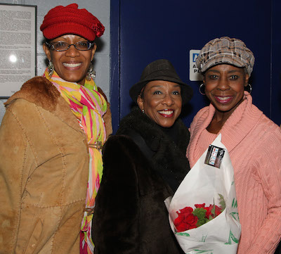 Tracey Conyer Lee, Gayle Turner and Marjorie Johnson. Photo by Garth Kravits