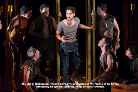 Peter Gadiot and company. Photo by Scott Suchman