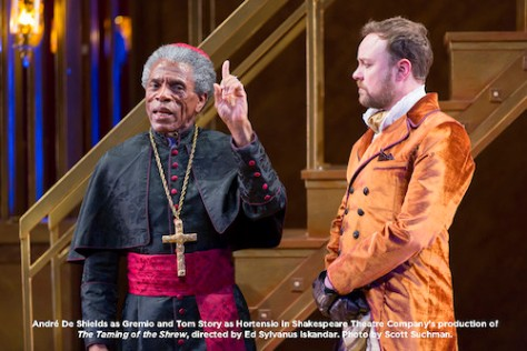 André De Shields and Tom Story. Photo by Scott Suchman
