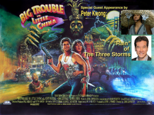 BIG TROUBLE IN LITTLE CHINA screens at Crest Theatre in Sacramento on May 27; with Special Guest Peter Kwong