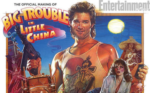 EW.com: See exclusive behind-the-scenes photos from The Official Making of Big Trouble in Little China