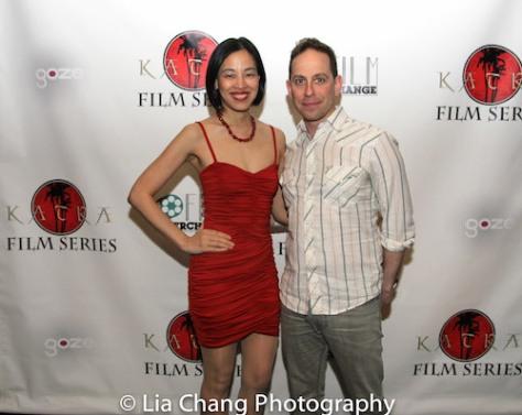 Lia Chang and Garth Kravits at the 2016 Katra Film Series in New York on May 14, 2016.