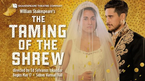 Maulik Pancholy and Peter Gadiot in THE TAMING OF THE SHREW.