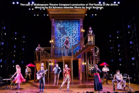 The Taming of the Shrew company. Photo by Scott Suchman